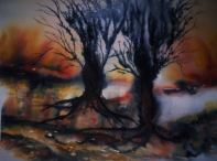 DANCE OF BURNT OLIVE TREES